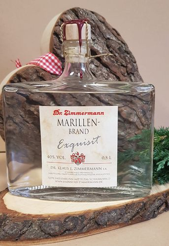 EXQUISIT Marillenbrand 40%Vol., 0,5l