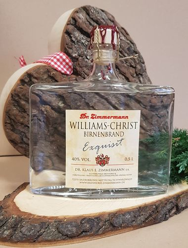 EXQUISIT Williams-Christ-Birnenbrand 40% Vol. 0,5l