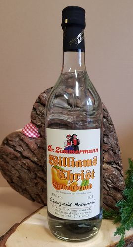 Williams-Christ-Birnenbrand 40% Vol. 1,0l